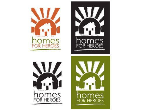 Logos | Homes for Heroes